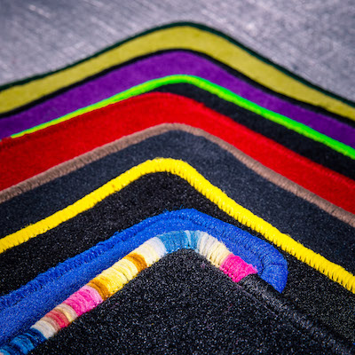Autofussmatten Farben Beispiele