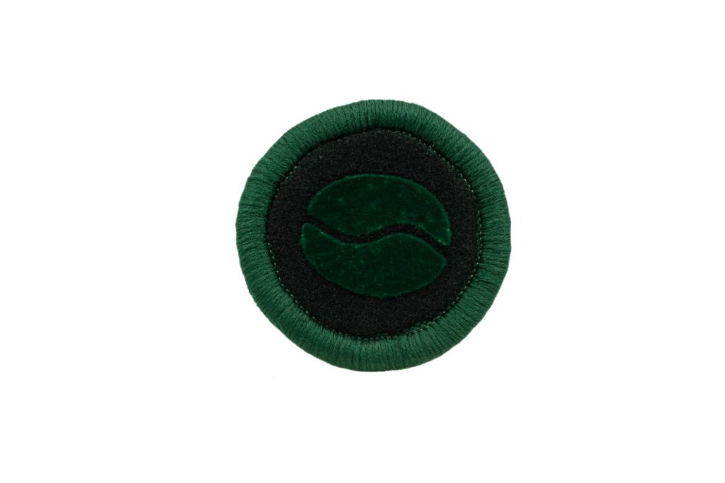 Teppichrandfarbe und Aufdrucksfarbe für Fußmatten - Dunkelgrün