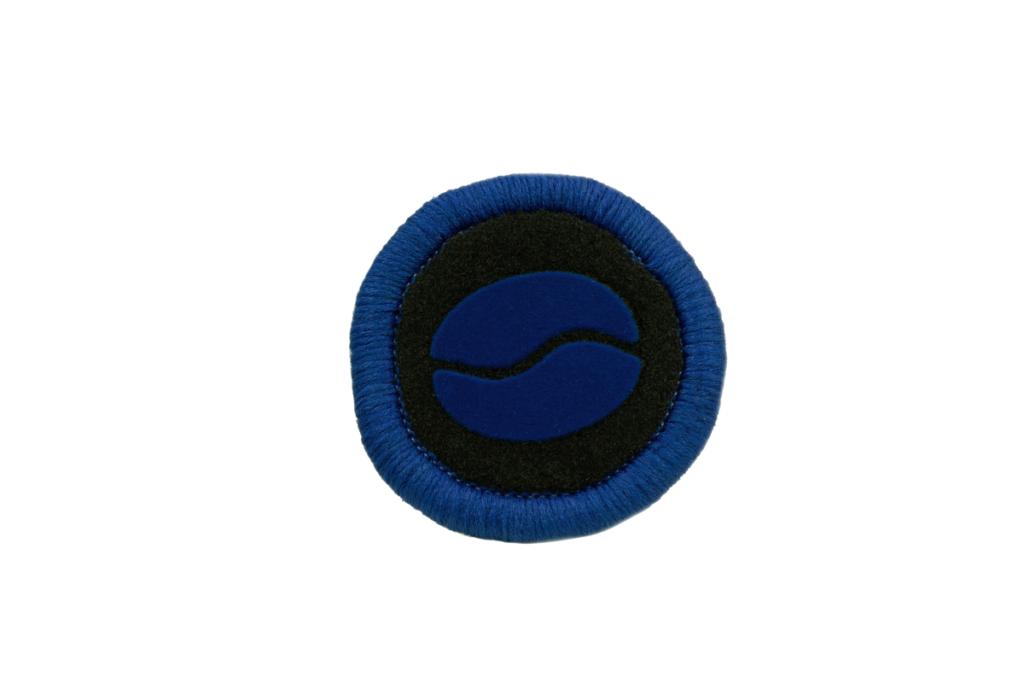 Teppichrandfarbe und Aufdrucksfarbe für Fußmatten - Blau