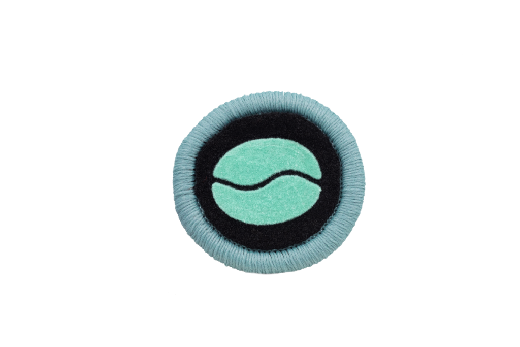 Teppichrandfarbe und Aufdrucksfarbe für Fußmatten - Hellblau