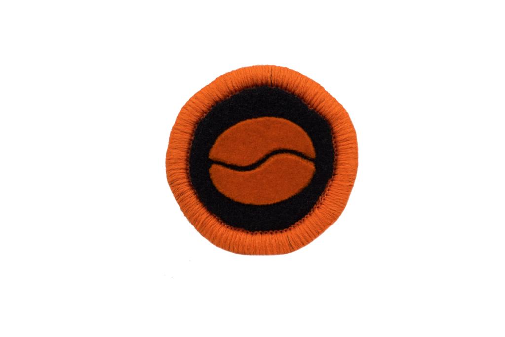 Teppichrandfarbe und Aufdrucksfarbe für Fußmatten - Orange