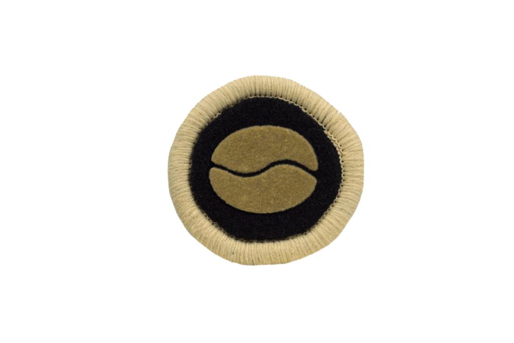 Teppichrandfarbe und Aufdrucksfarbe für Fußmatten - Hellbeige