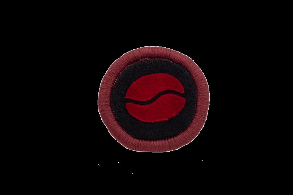 Teppichrandfarbe für Fußmatten - Kettelfarbe Bordeaux dunkel