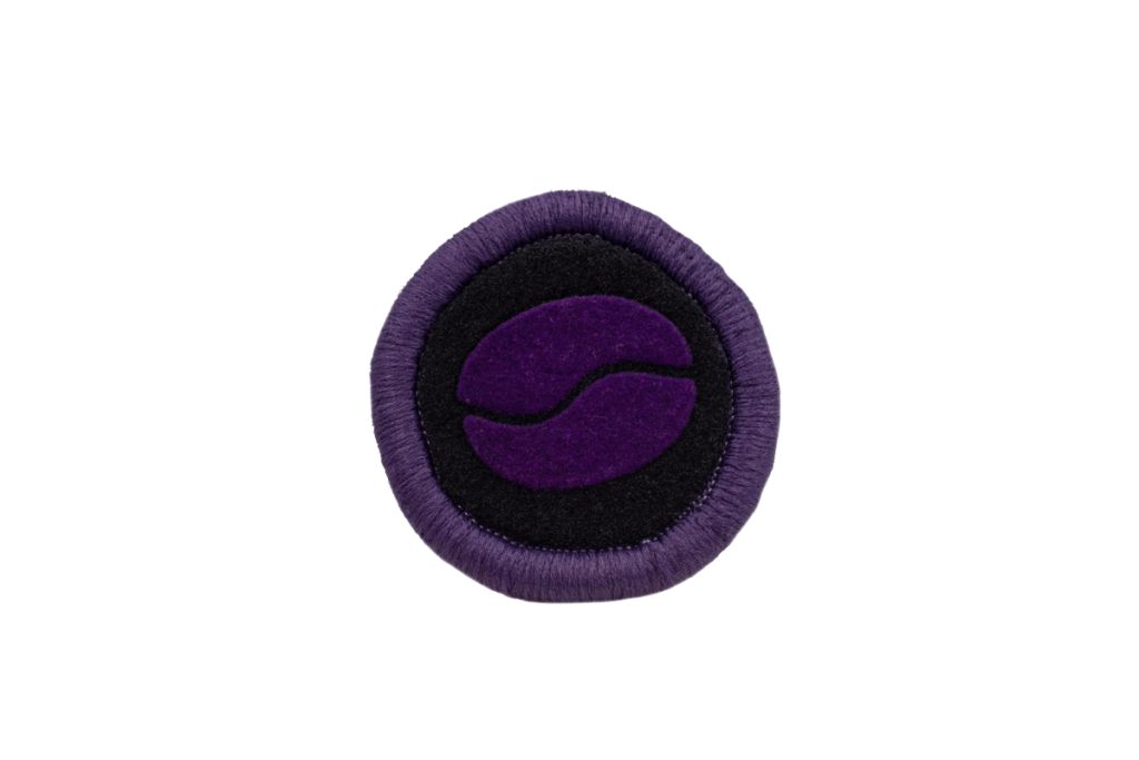 Teppichrandfarbe und Aufdrucksfarbe für Fußmatten - Violett