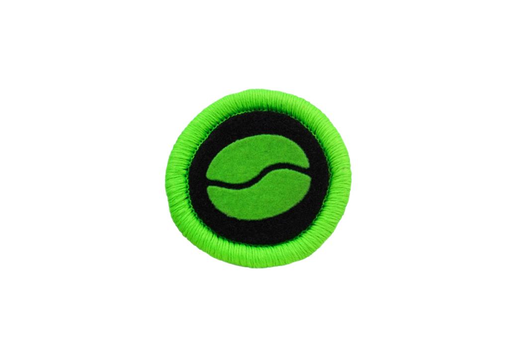 Teppichrandfarbe und Aufdrucksfarbe für Fußmatten - Neongrün