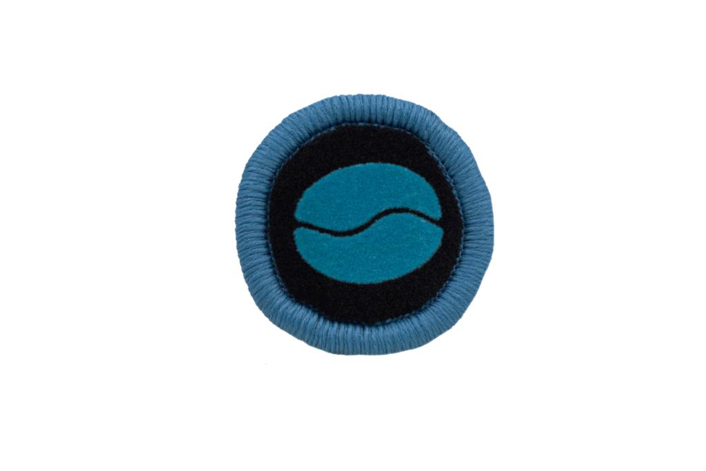 Teppichrandfarbe und Aufdrucksfarbe für Fußmatten - Türkis