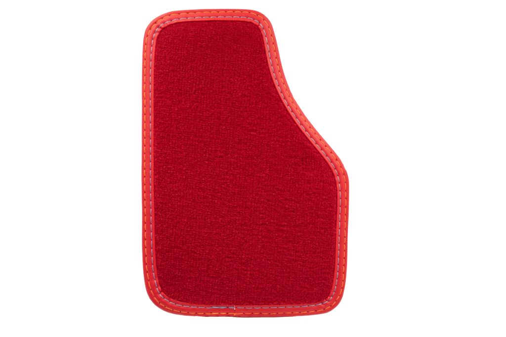 Teppich Einfassband Kunstleder - Rot