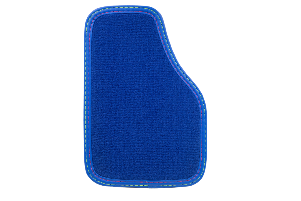 Teppich Einfassband Kunstleder - Blau