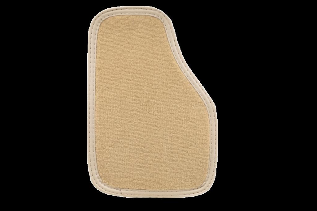 Teppich Einfassband Kunstleder - Beige