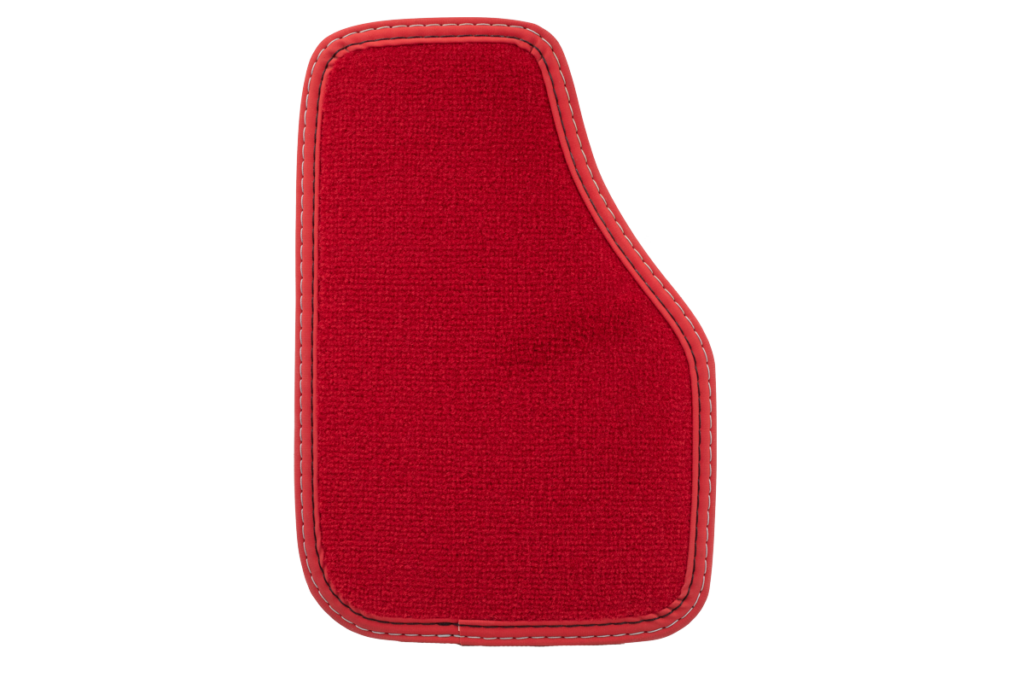 Einfassband Nubuk-Leder (Matt) - Rot