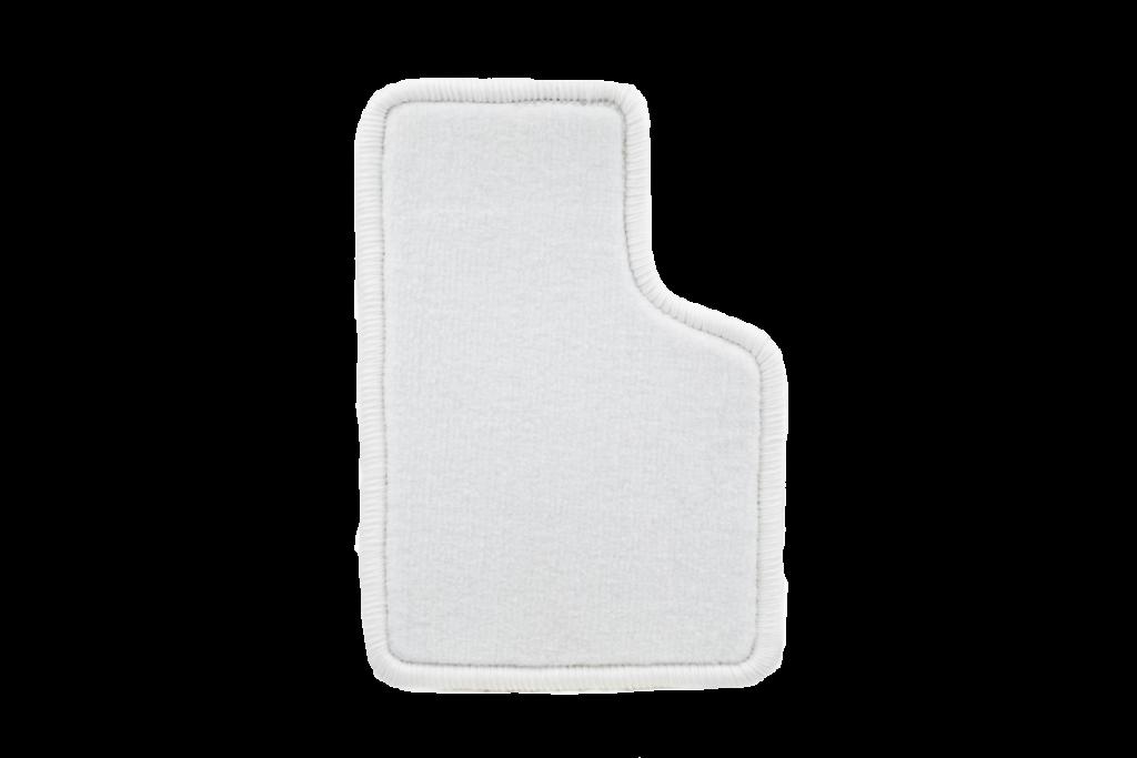 Teppichfarbe des Grundmaterials - Weiss