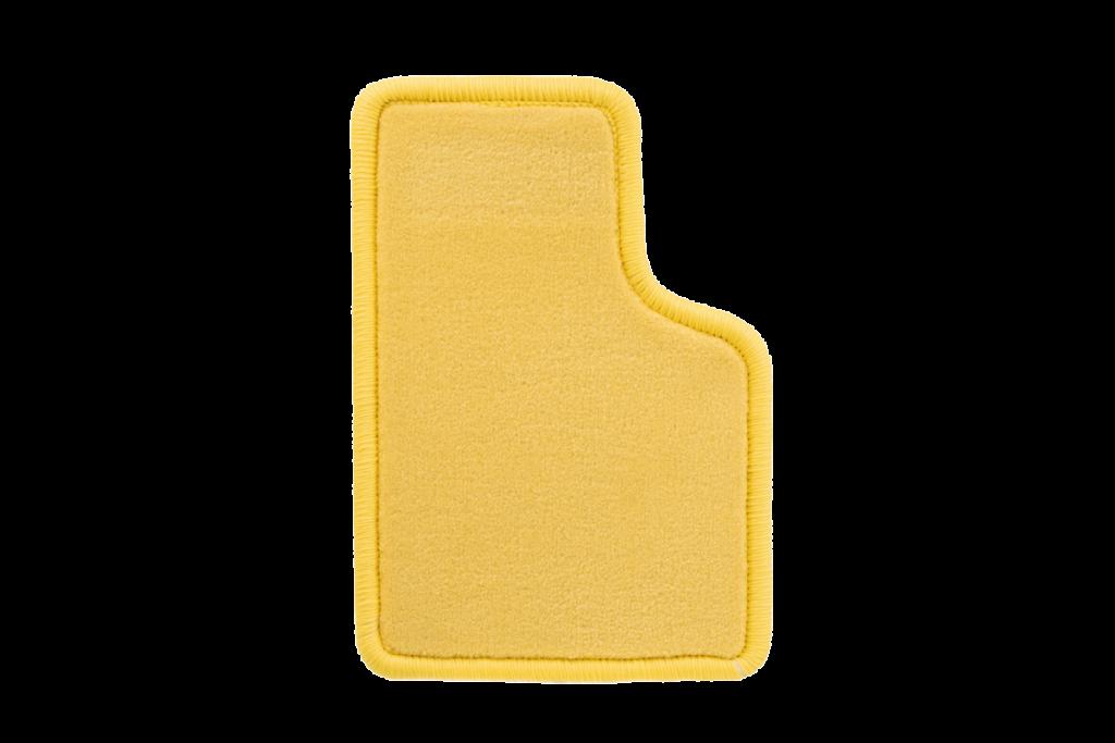 Teppichfarbe des Grundmaterials - Gelb