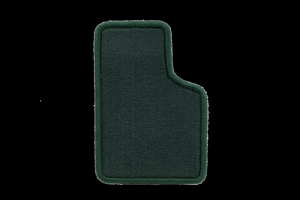 Teppichfarbe des Grundmaterials - Dunkelgrün