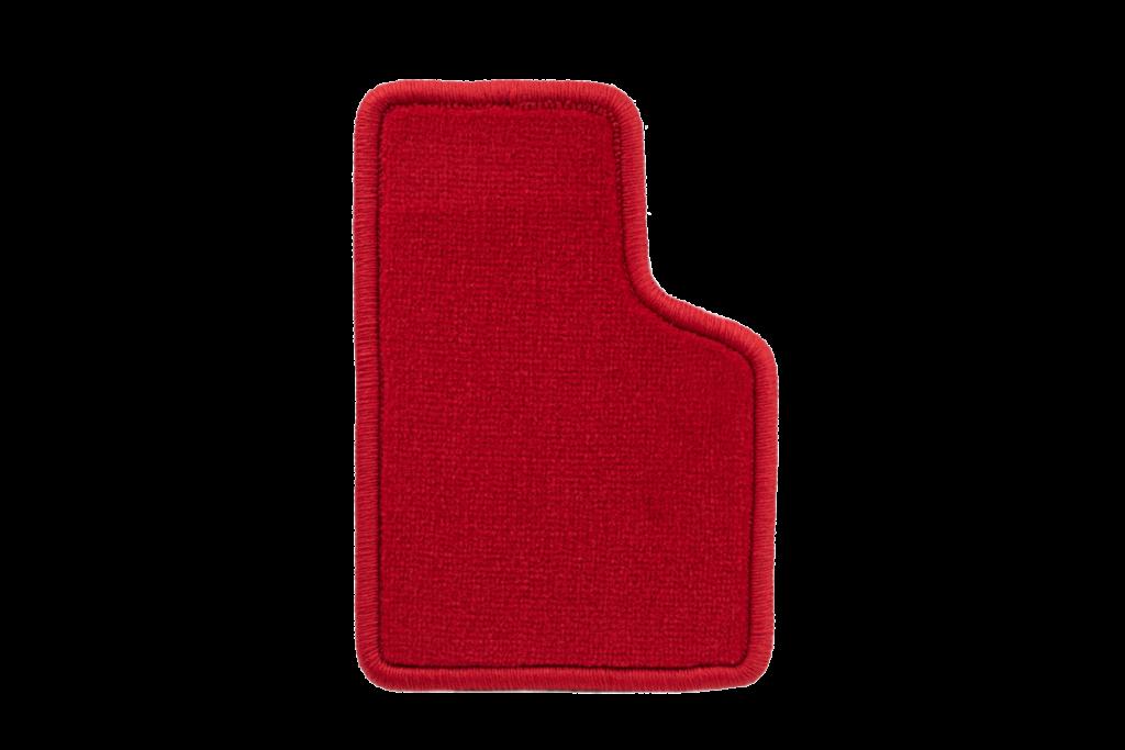 Teppichfarbe des Grundmaterials - Rot