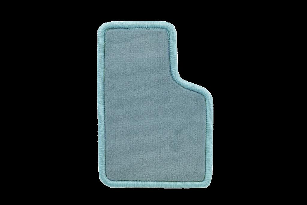Teppichfarbe des Grundmaterials - Hellblau