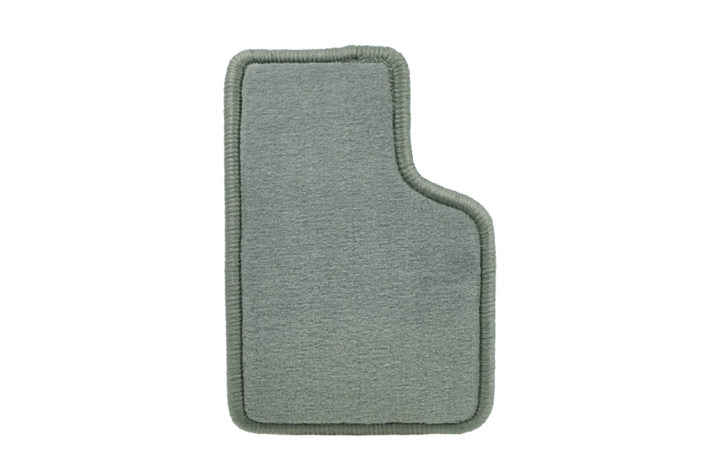 Teppichfarbe des Grundmaterials - Grau