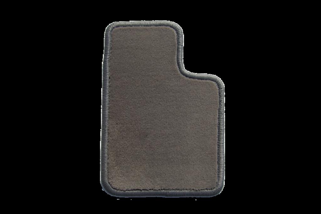Teppichfarbe des Grundmaterials - Beigegrau