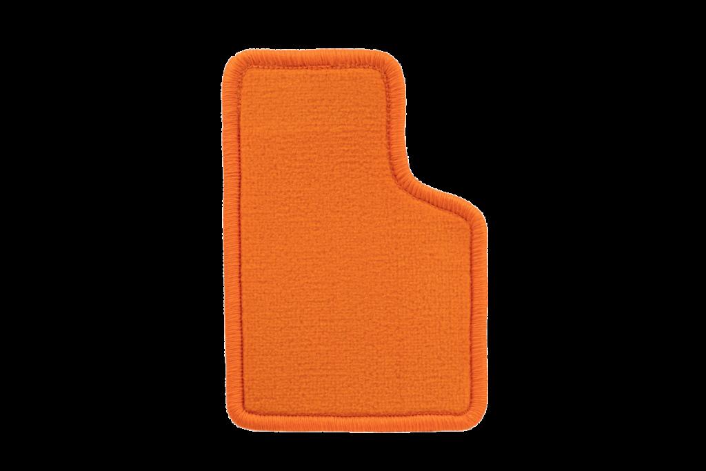 Teppichfarbe des Grundmaterials - Orange