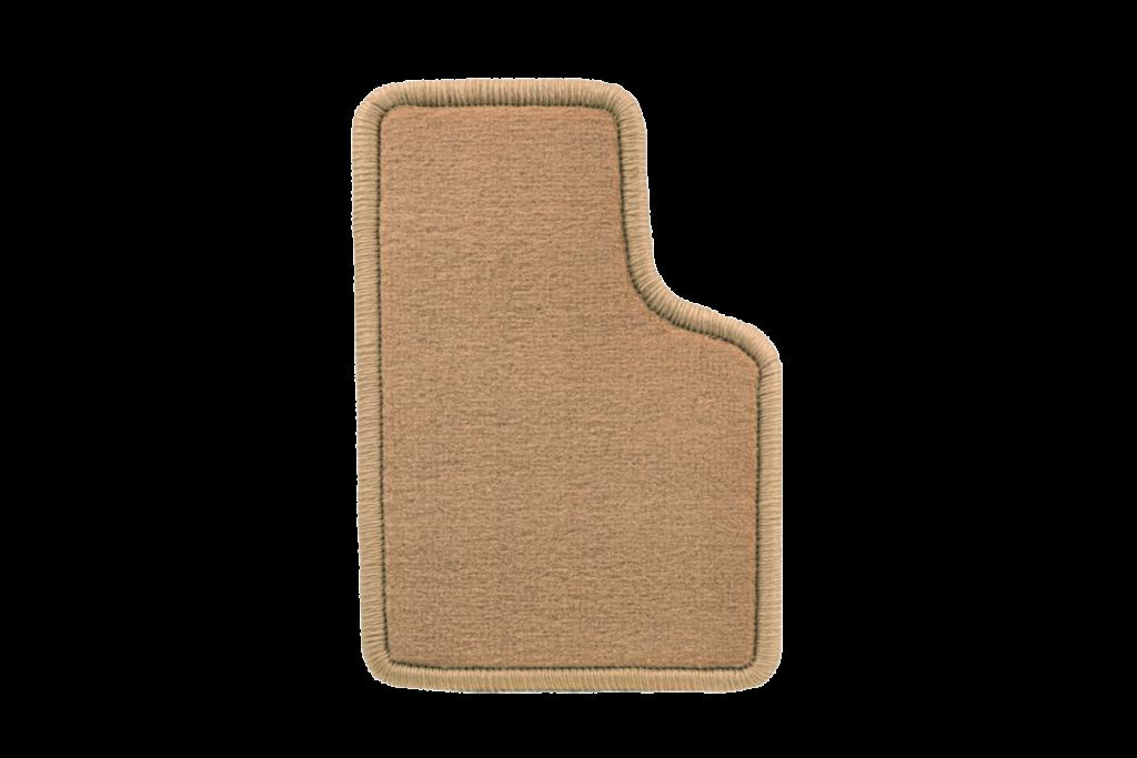 Teppichfarbe des Grundmaterials - Dattel