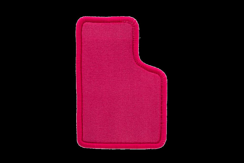 Teppichfarbe des Grundmaterials - Pink