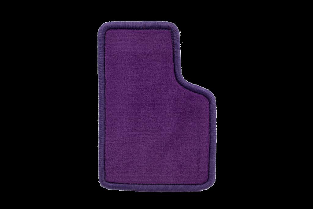 Teppichfarbe des Grundmaterials - Violett