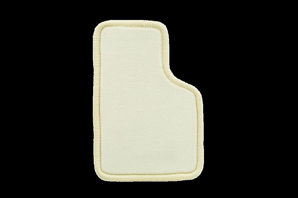 Teppichfarbe des Grundmaterials - Vanille