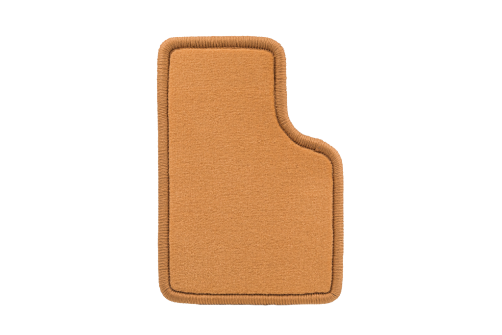Teppichfarbe des Grundmaterials - Caramell