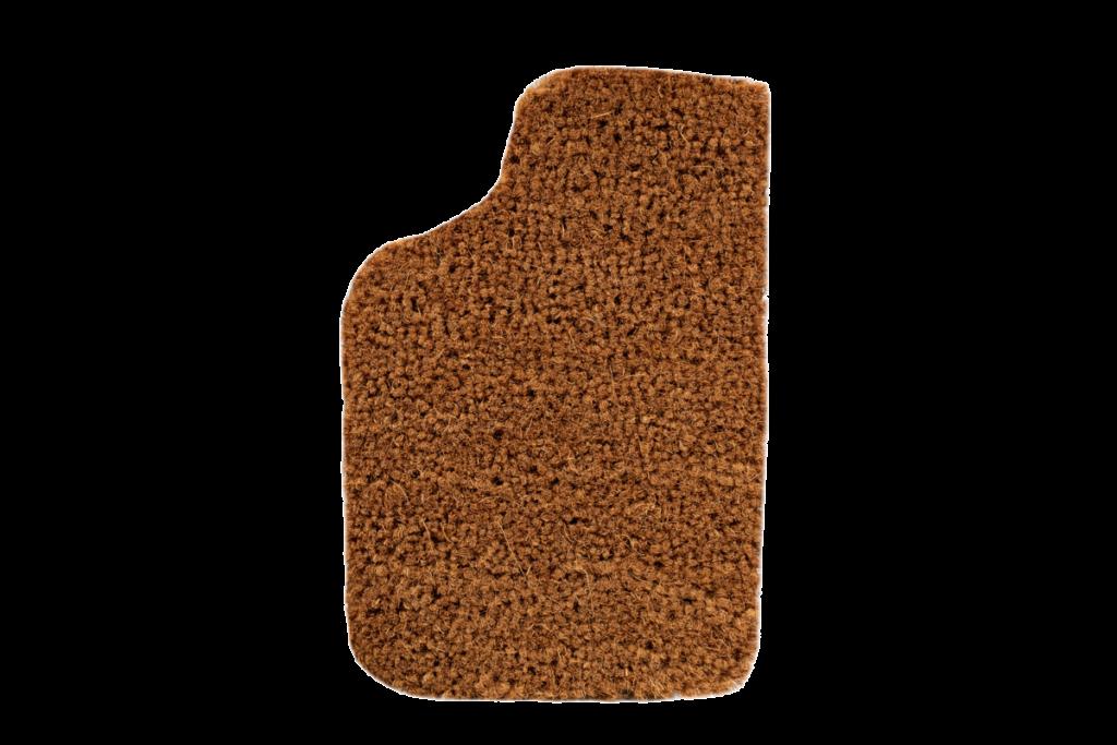 Kokos Oldtimer Teppichfarbe des Grundmaterials - Dattel