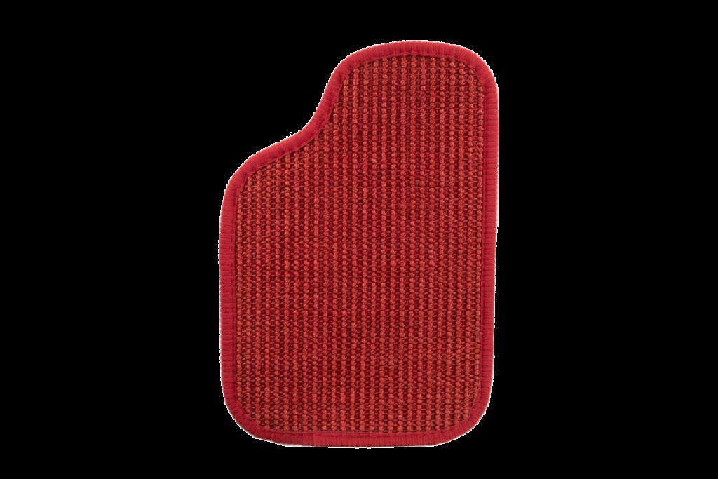 Sisal Oldtimer Teppichfarbe des Grundmaterials - Rot