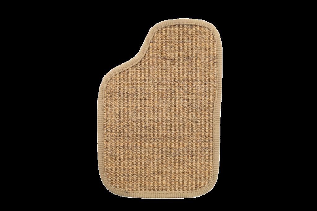 Sisal Oldtimer Teppichfarbe des Grundmaterials - Beige