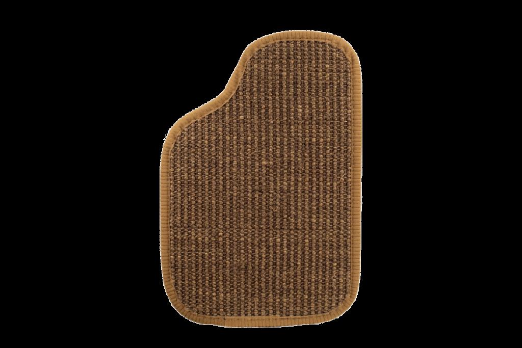 Sisal Oldtimer Teppichfarbe des Grundmaterials - Dattel