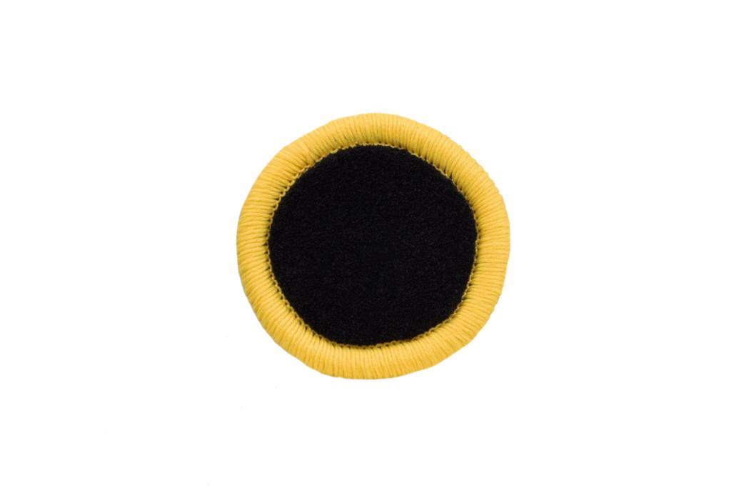 Teppichrandfarbe für Fußmatten - Kettelfarbe Hellgelb
