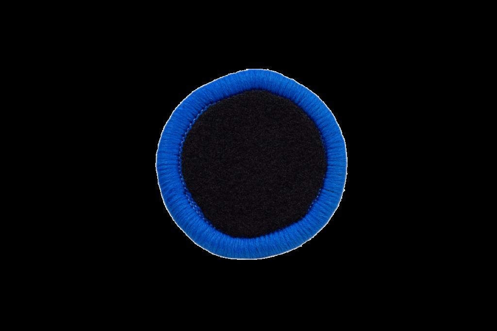 Teppichrandfarbe für Fußmatten - Kettelfarbe Blau-Hell