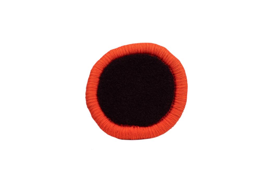 Teppichrandfarbe für Fußmatten - Kettelfarbe Neonorange