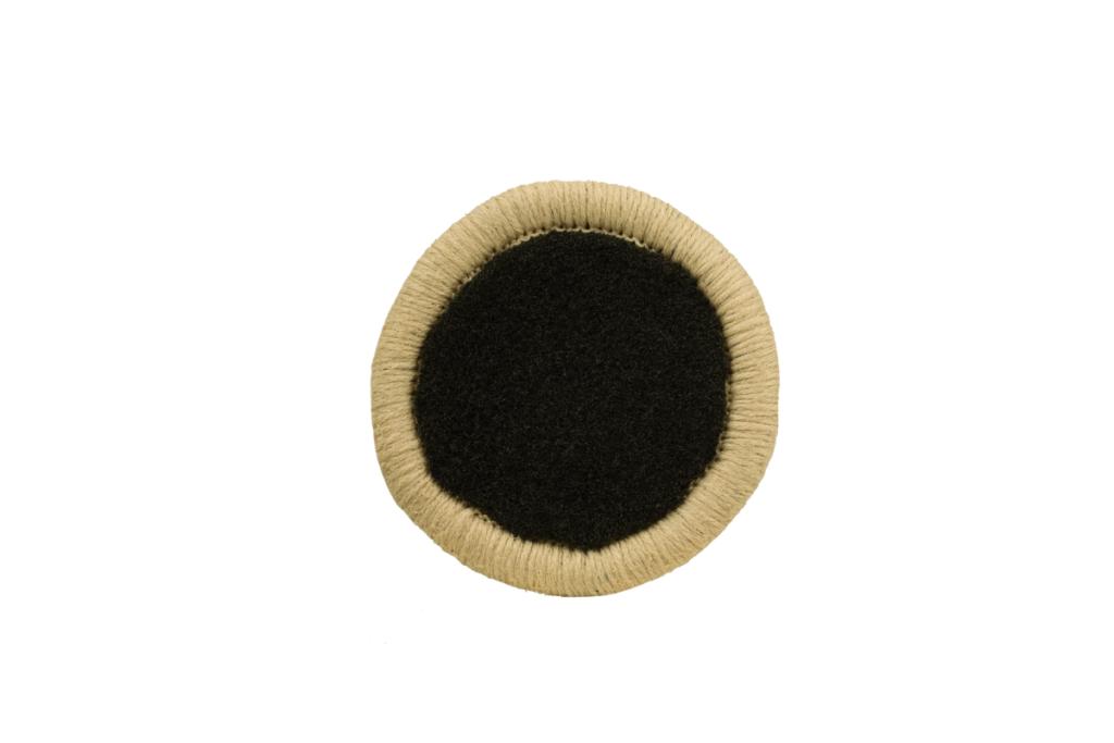 Teppichrandfarbe für Fußmatten - Kettelfarbe Hellbeige