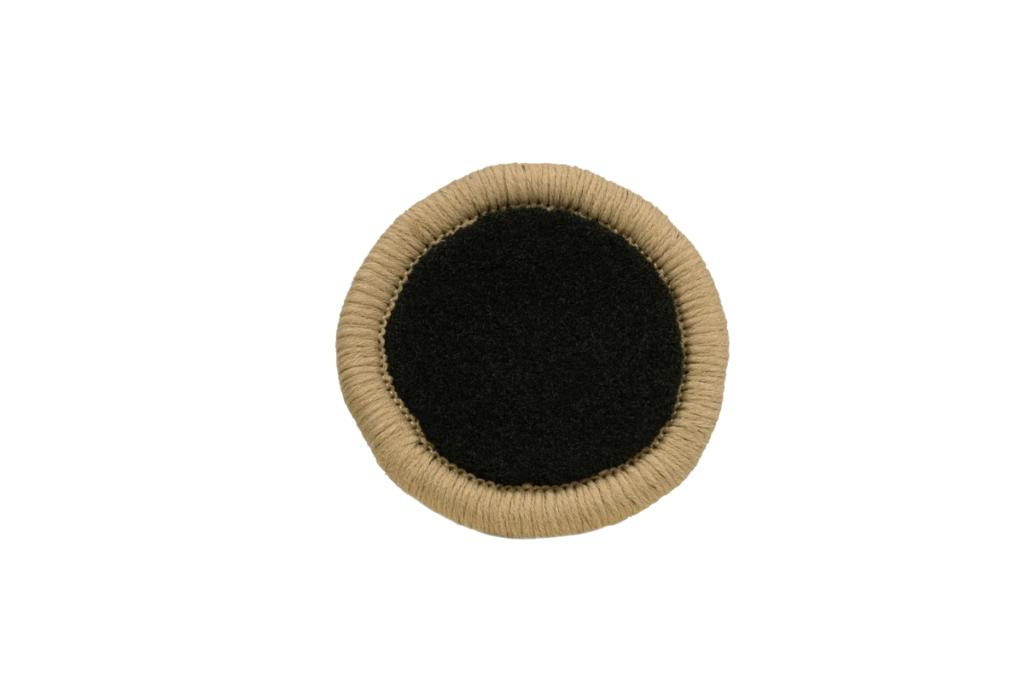 Teppichrandfarbe für Fußmatten - Kettelfarbe Mittelbeige