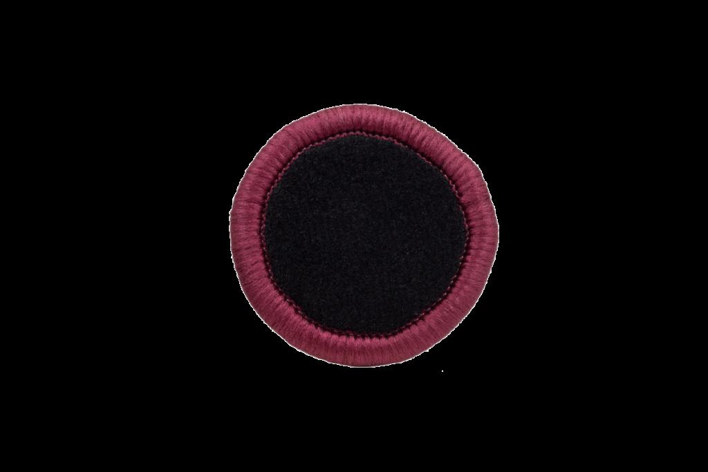 Teppichrandfarbe für Fußmatten - Kettelfarbe Bordeaux Glanz