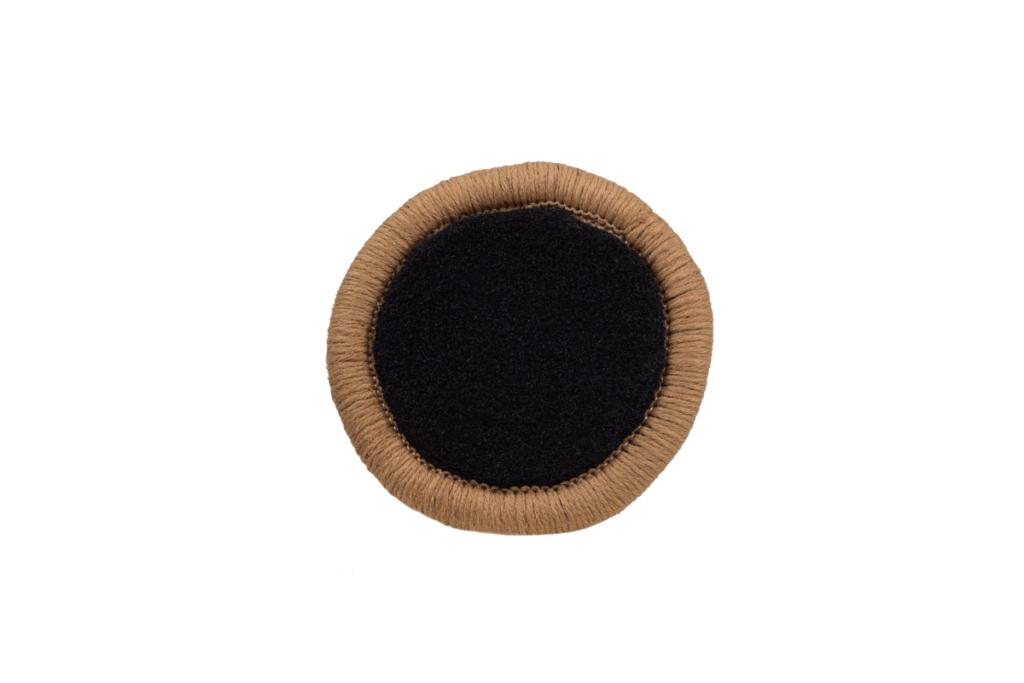 Teppichrandfarbe für Fußmatten - Kettelfarbe Dattel