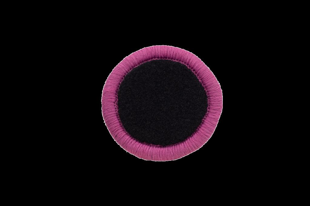 Teppichrandfarbe für Fußmatten - Kettelfarbe Dunkelpink