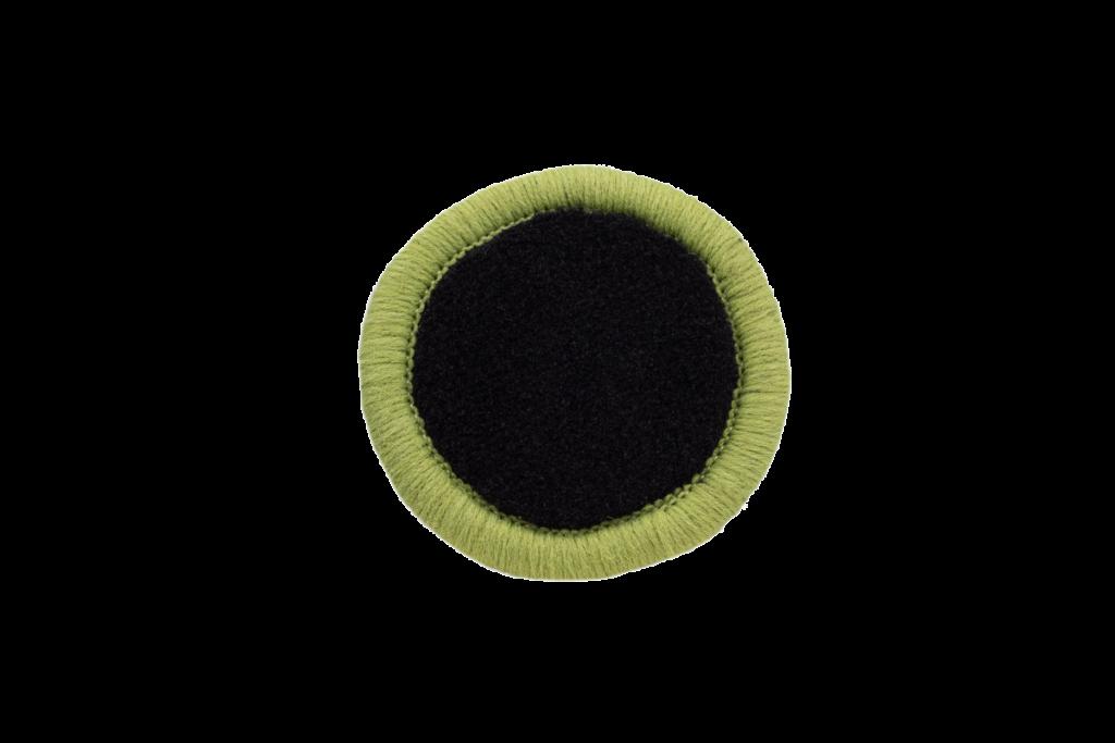 Teppichrandfarbe für Fußmatten - Kettelfarbe Hellgrün