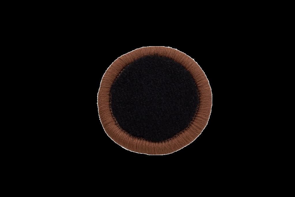Teppichrandfarbe für Fußmatten - Kettelfarbe Hellbraun