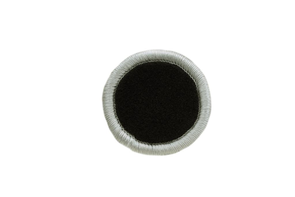 Teppichrandfarbe für Fußmatten - Kettelfarbe Silber