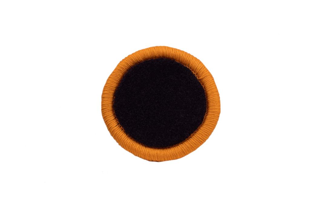 Teppichrandfarbe für Fußmatten - Kettelfarbe Kupfer