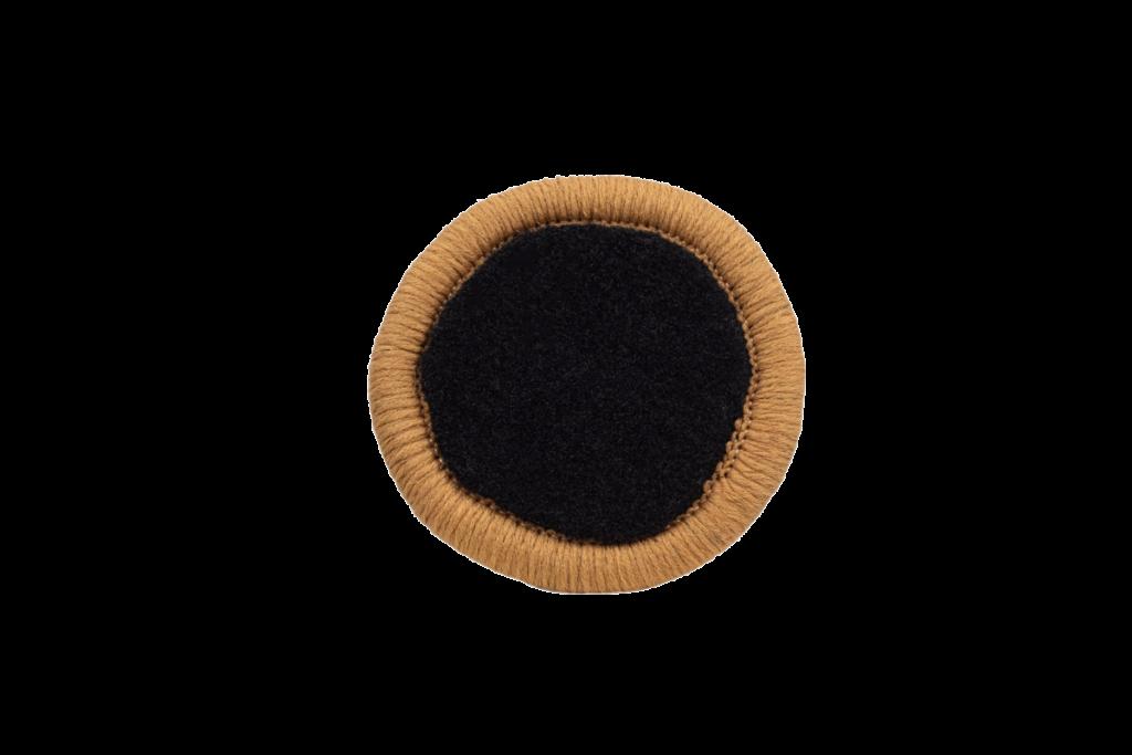 Teppichrandfarbe für Fußmatten - Kettelfarbe Caramell
