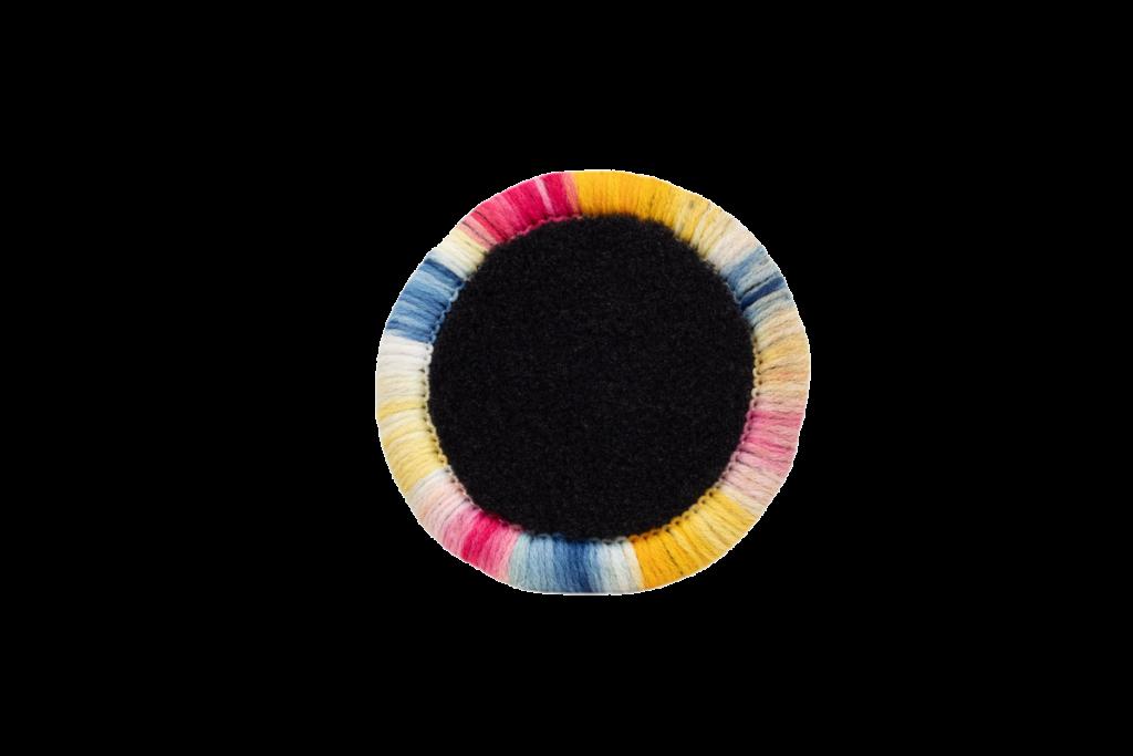 Teppichrandfarbe für Fußmatten - Kettelfarbe Regenbogen